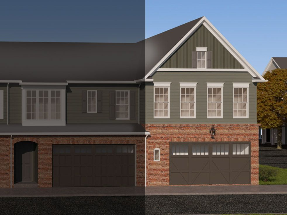 The Creswell:B1 Elevation