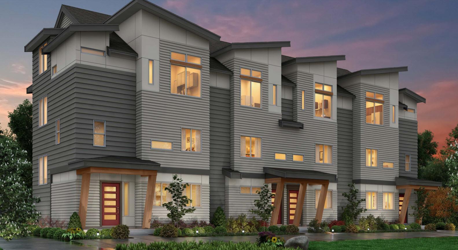 Residence 1A - 2-Car- Riva:Elevation