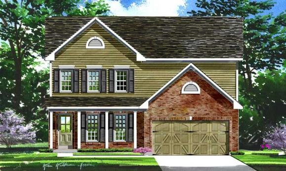 Sheridan Elevation 9- Shown w/optional carriage st