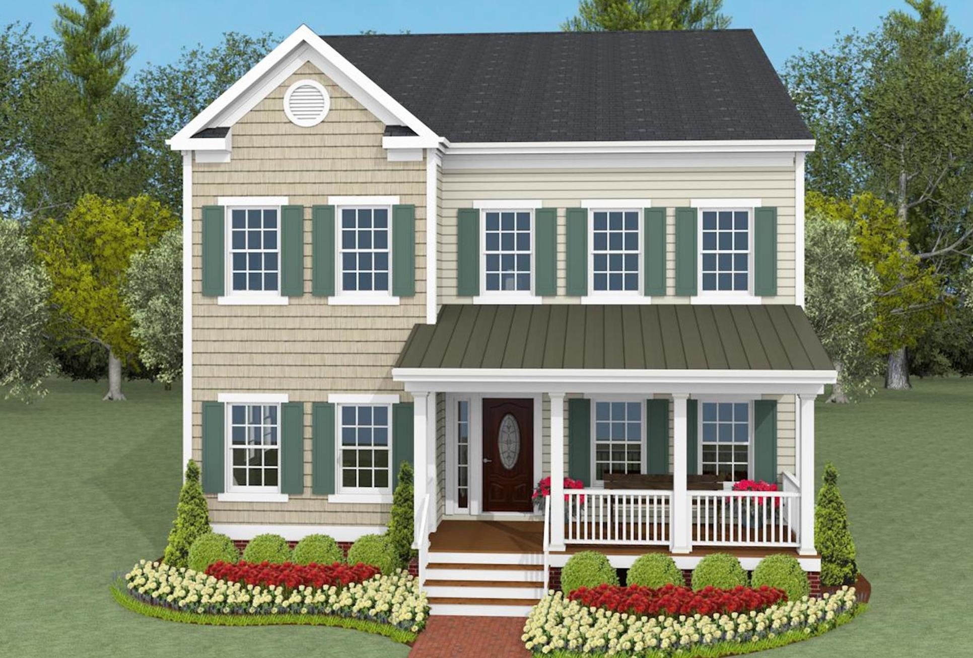 Eastport Executive Front Elevation