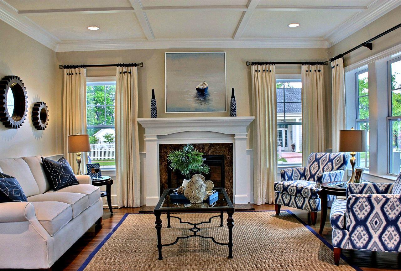 Monterey Legacy :Living / Family Room (Model Home Image)