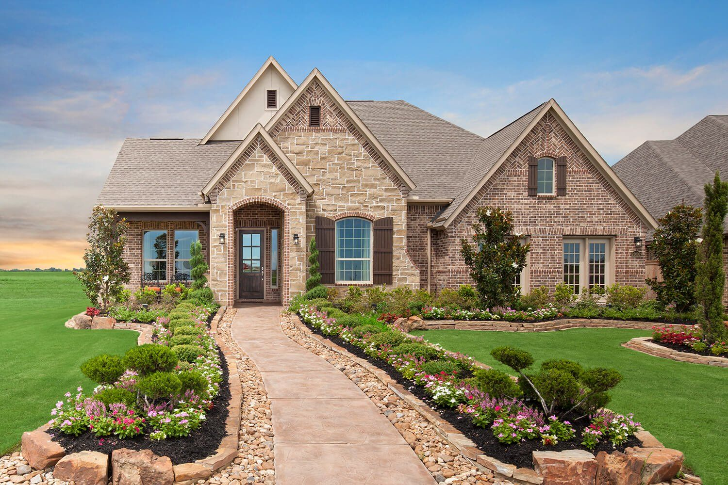 Elevation - The Tomball (6876 Plan)