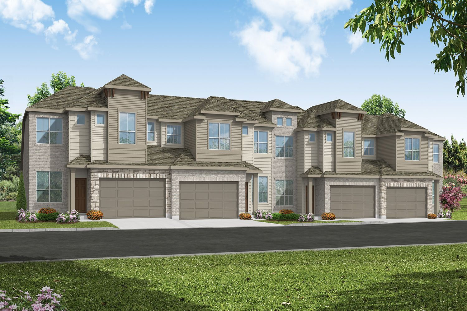 Sonoma Heights Exterior Rendering