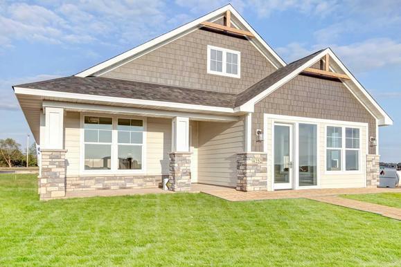 Atwood - Villa Floor Plan:Exterior Elevation
