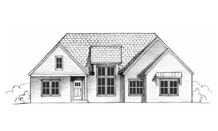 Woodfield A:Elevation