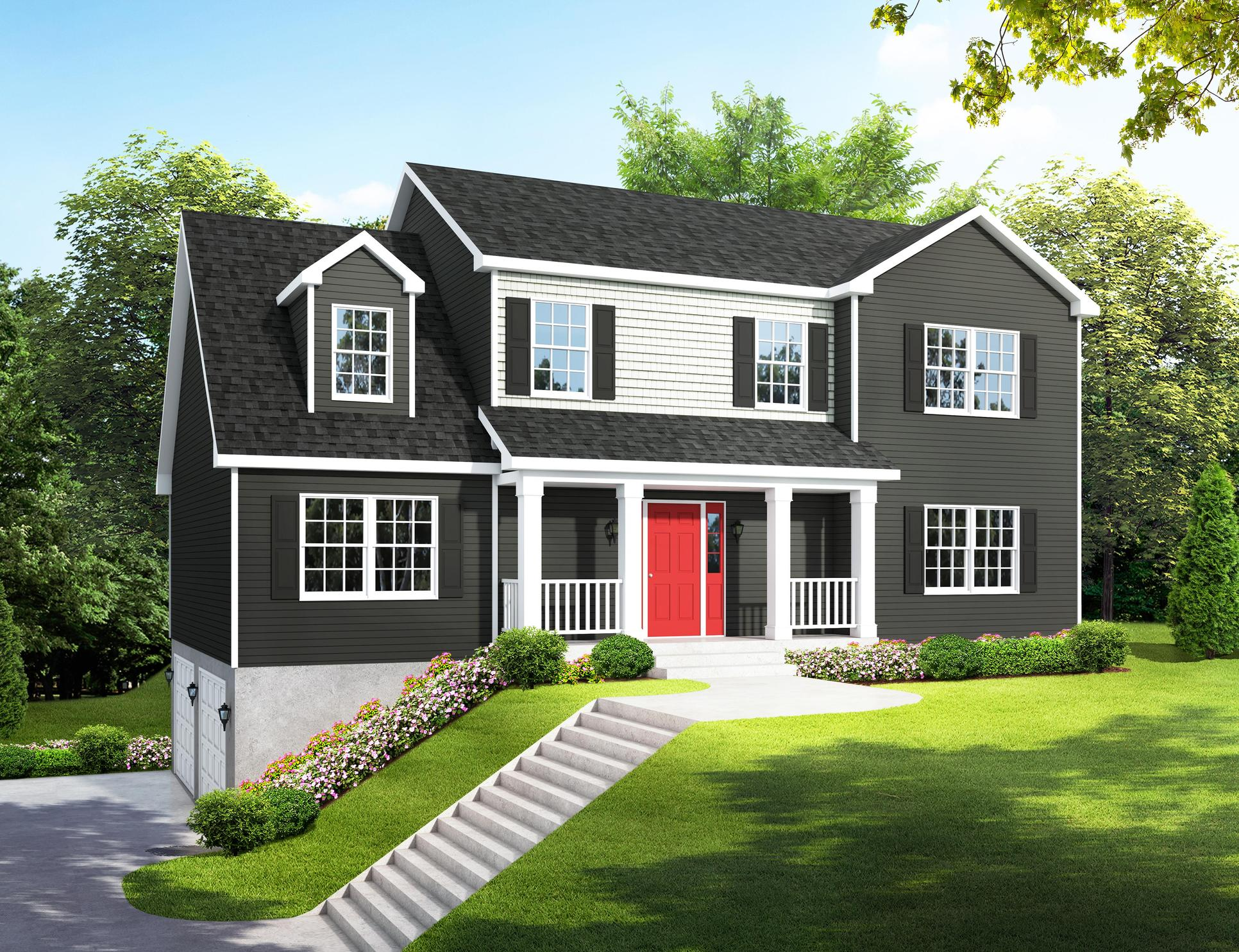 Bald Eagle Hills:Two-Story Home