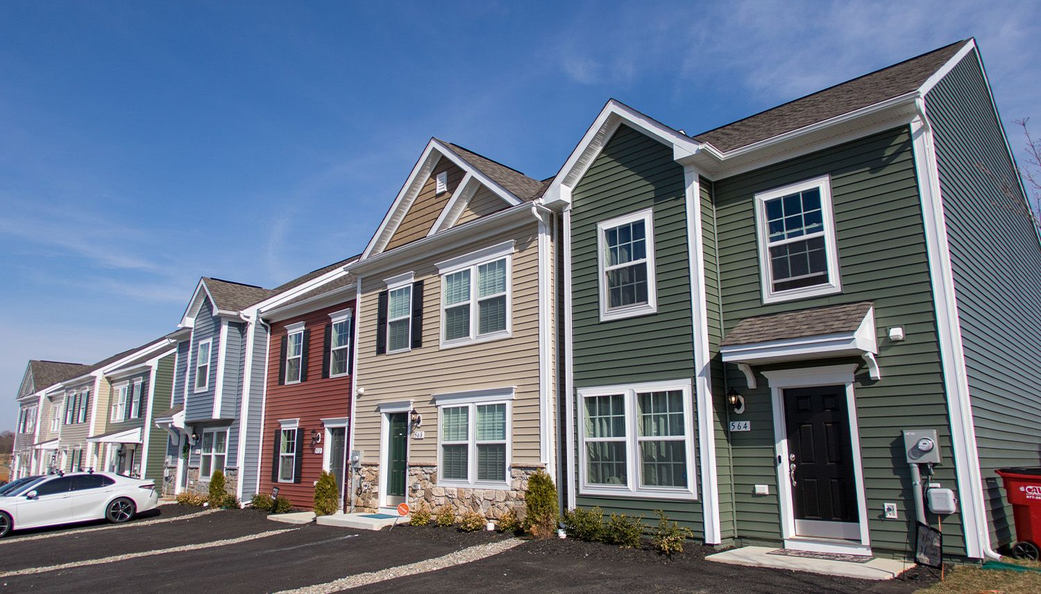Archer's Rock Townhomes:Exterior Front