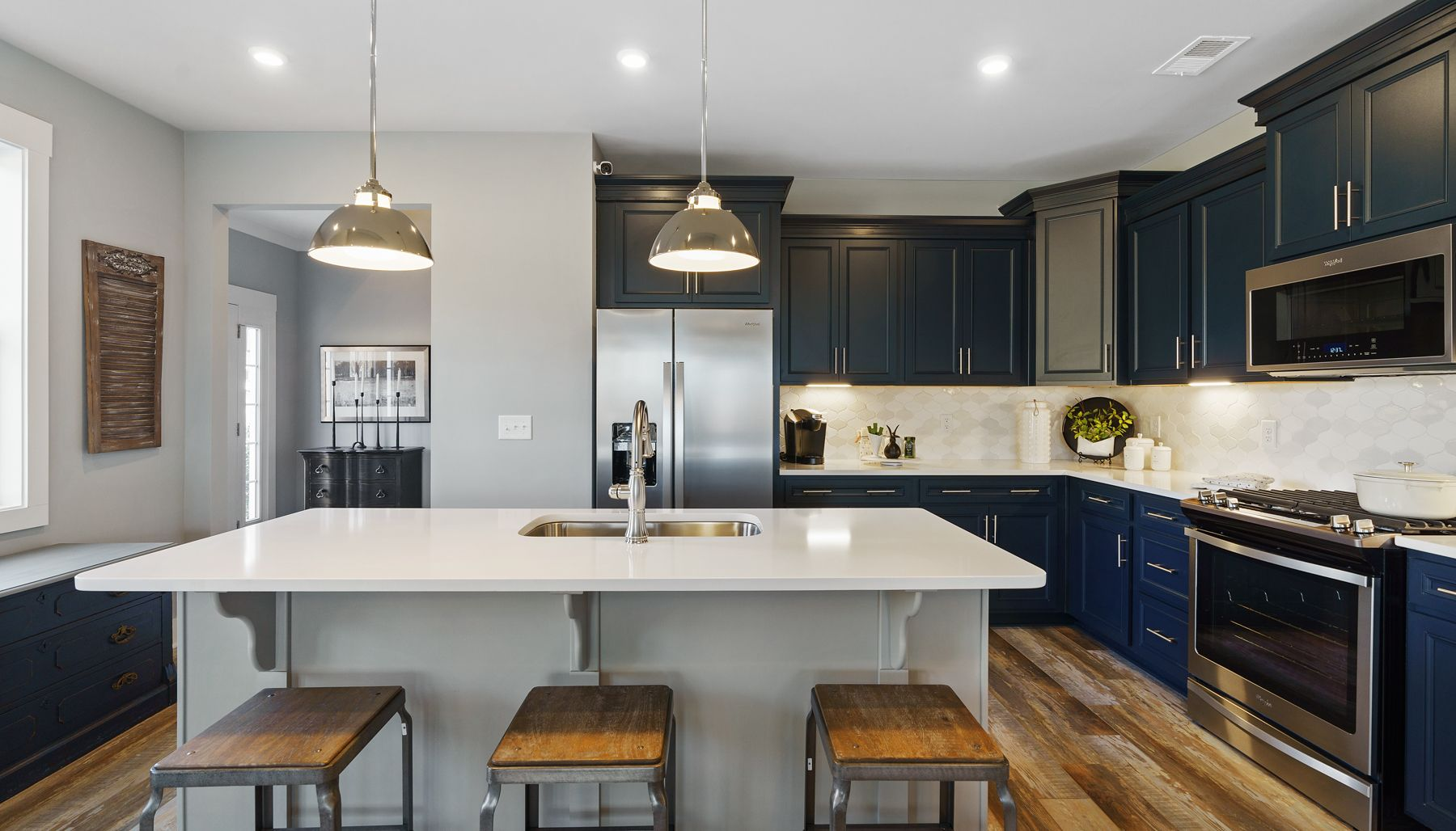 Kitchen:Lakehurst Floorplan Model 57
