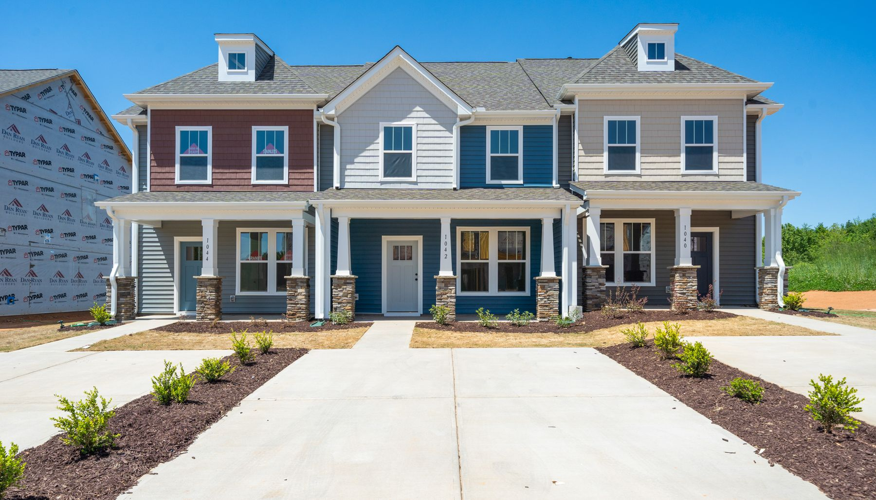 Churchill:Exterior Front Homes