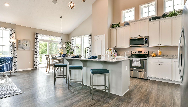 Kitchen:Aspen II Floorplan Wyncrest Estates Model