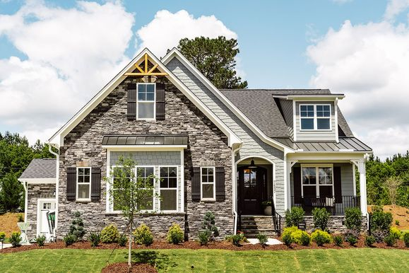 Davidson Homes Model Home in Hasentree in Wake Forest, NC:No Caption