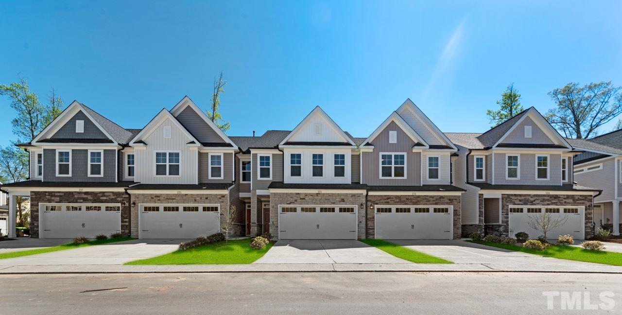 Homes in Holly Springs' Bridgewater West Towns Towhnhome Community by Davidson Homes:No Caption