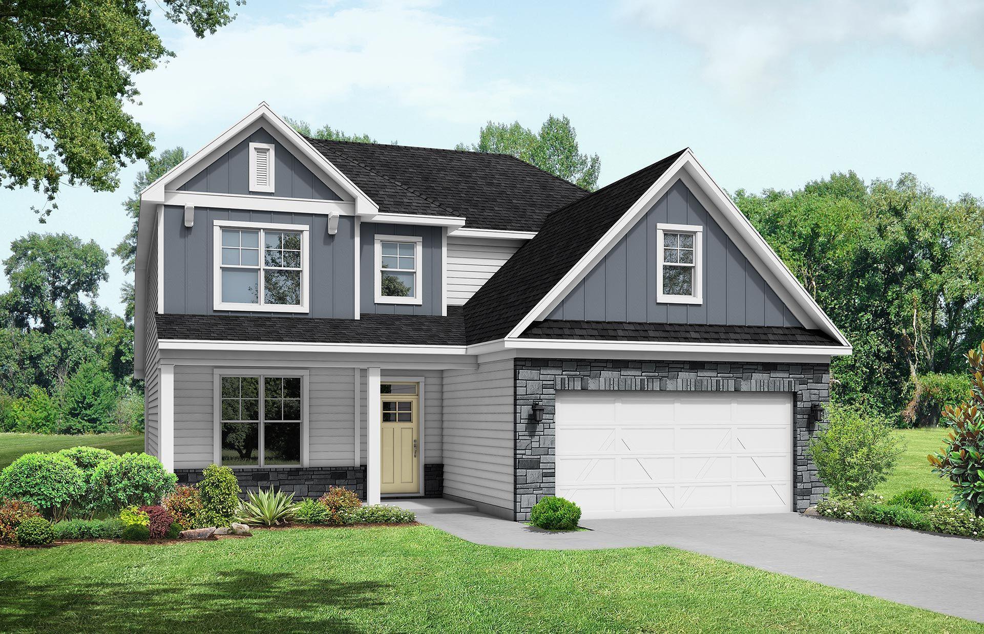 Davidson Homes The Ash C Elevation