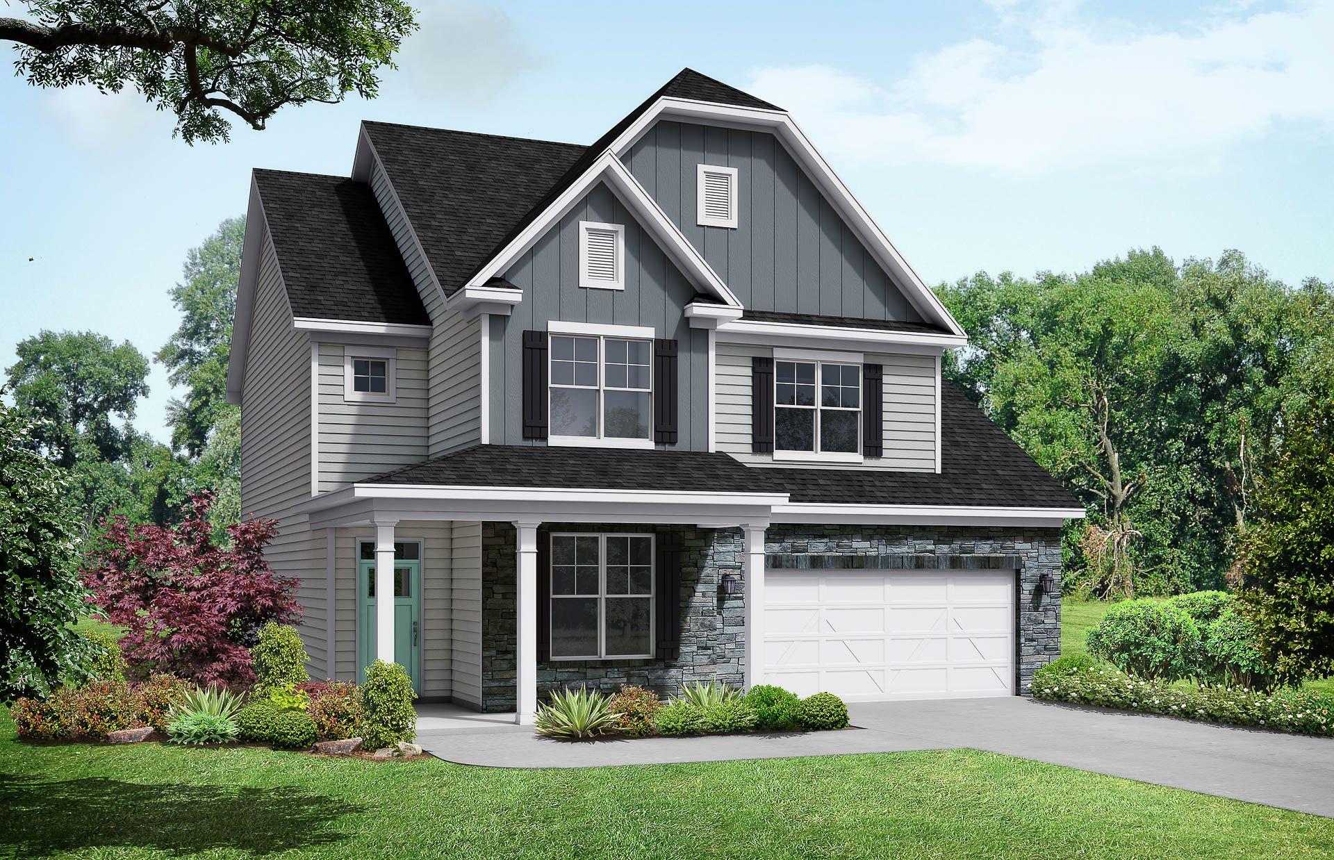 Davidson Homes The Elm C Elevation