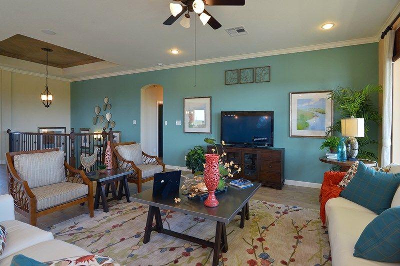 Interior:The Oceanside - Family Room