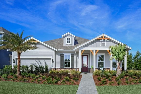 The Lions in Heritage Trace at Crosswater Nocatee