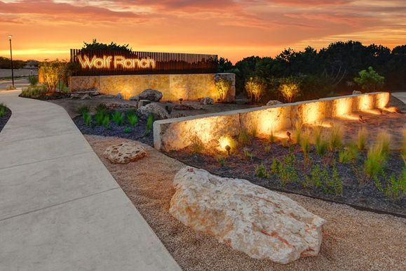 Wolf Ranch Entrance