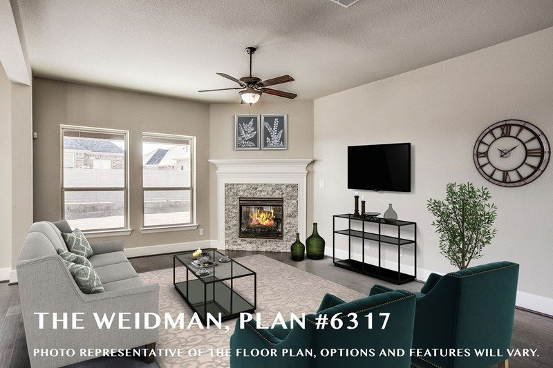 Interior:The Weidman - Living Room