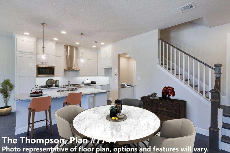 Interior:The Thompson - Dining