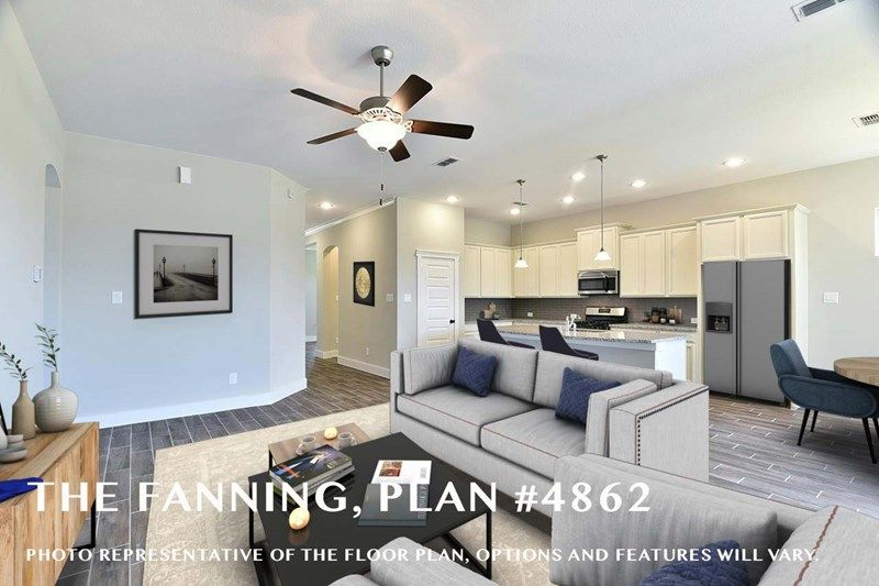 Interior:The Fanning - Family Room