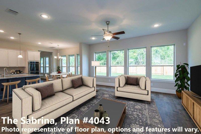 Interior:The Sabrina - Family Room