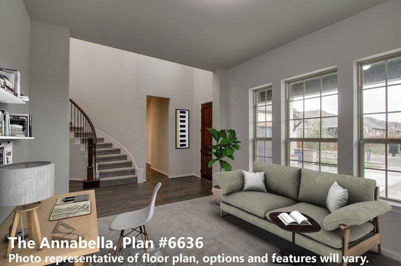 Interior:The Annabella - Study