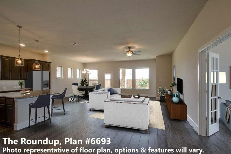 Interior:The Roundup - Family Room