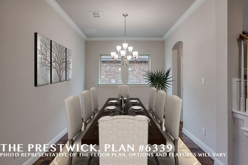 Interior:The Prestwick - Dining Room