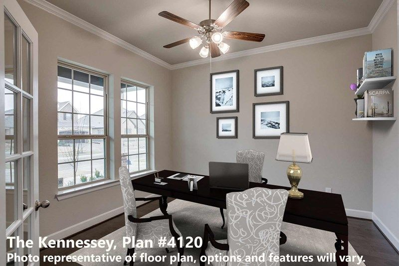 Interior:The Kennessey - Study