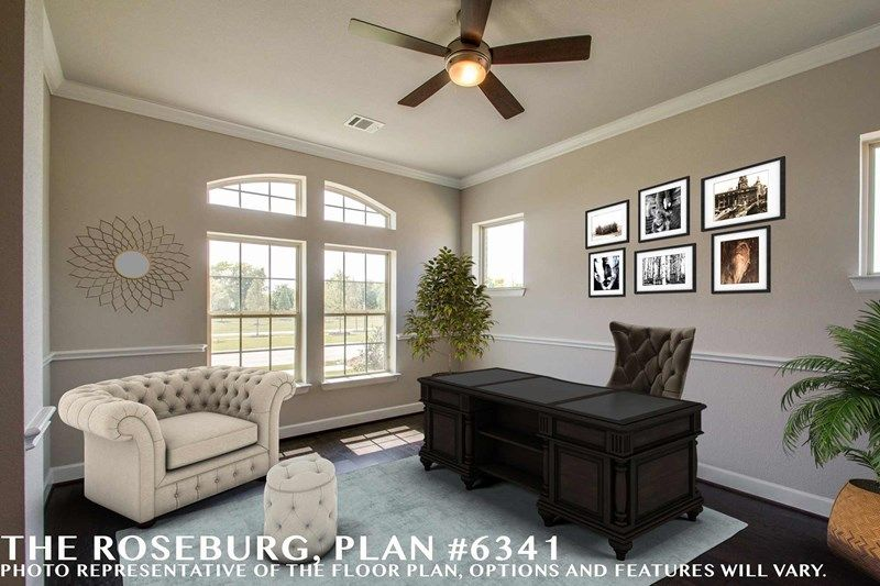 Interior:The Roseburg - Study