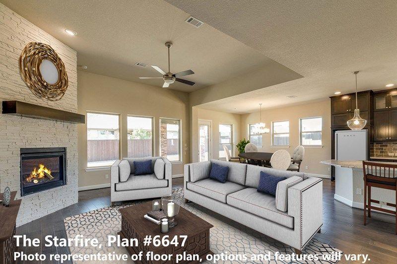 Interior:The Starfire - Living Room