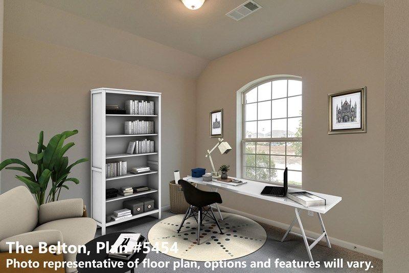 Interior:The Belton - Study