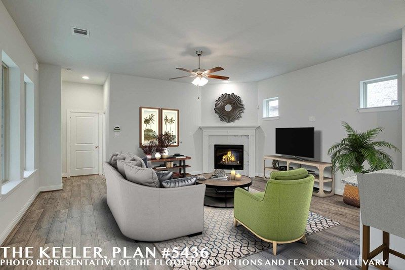 Interior:The Keeler - Family Room