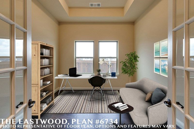 Interior:The Eastwood - Study