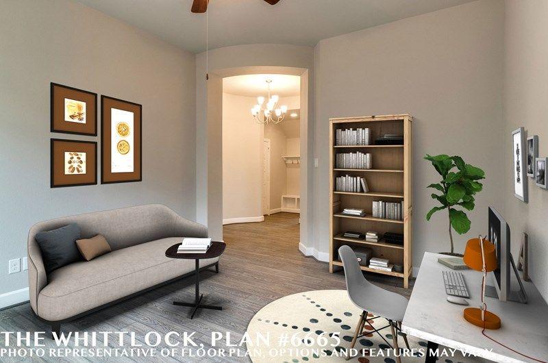 Interior:The Whittlock - Study