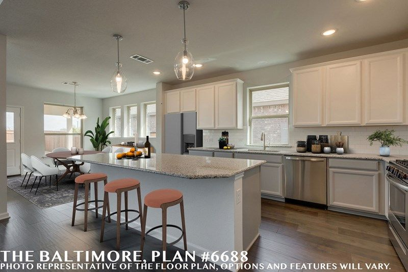 Interior:The Baltimore - Kitchen