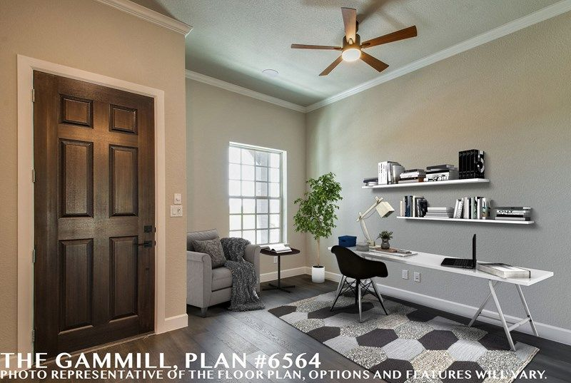 Interior:The Gammill - Study