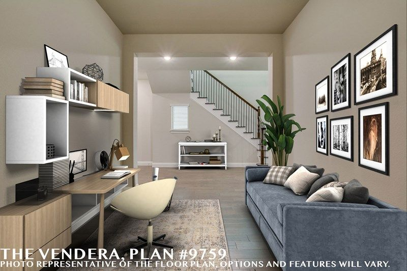 Interior:The Vendera - Study