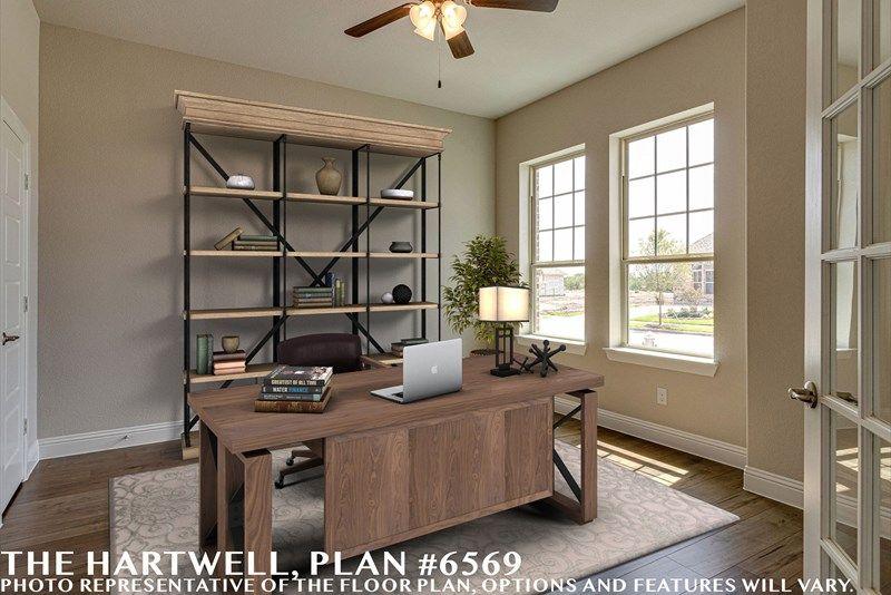 Interior:The Hartwell - Study