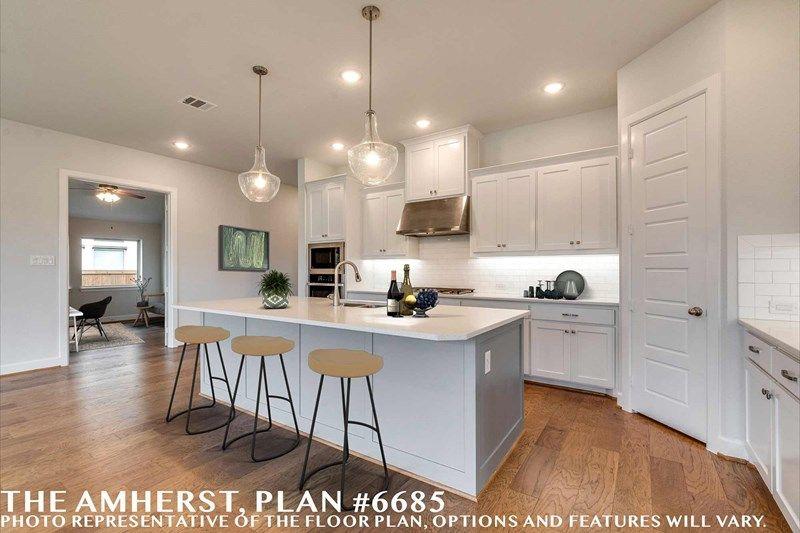 Interior:The Amherst - Kitchen