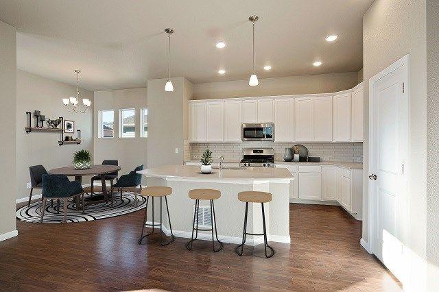 Interior:The Goldenrod - Kitchen