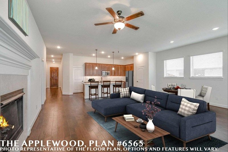 Interior:The Applewood - Family Room