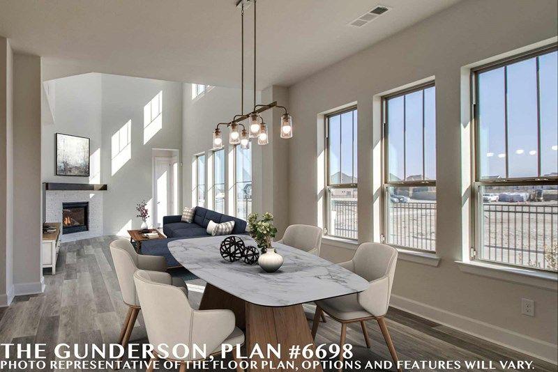 Interior:The Gunderson - Dining