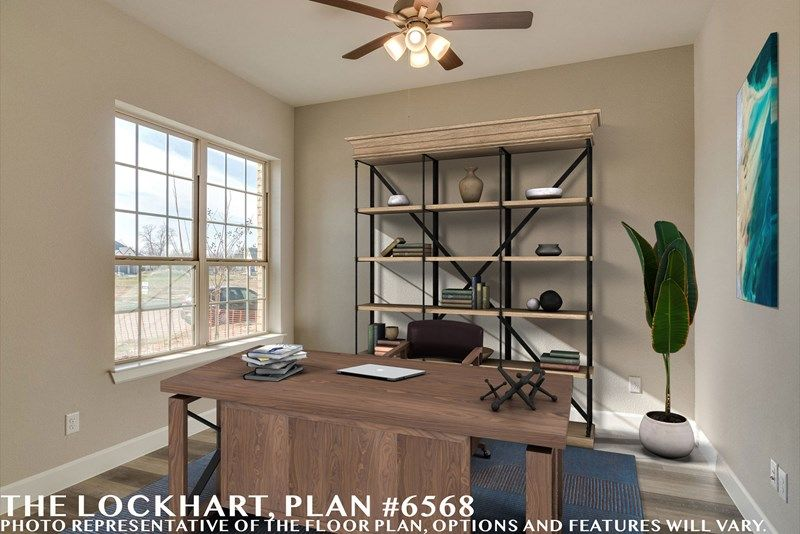 Interior:The Lockhart - Study