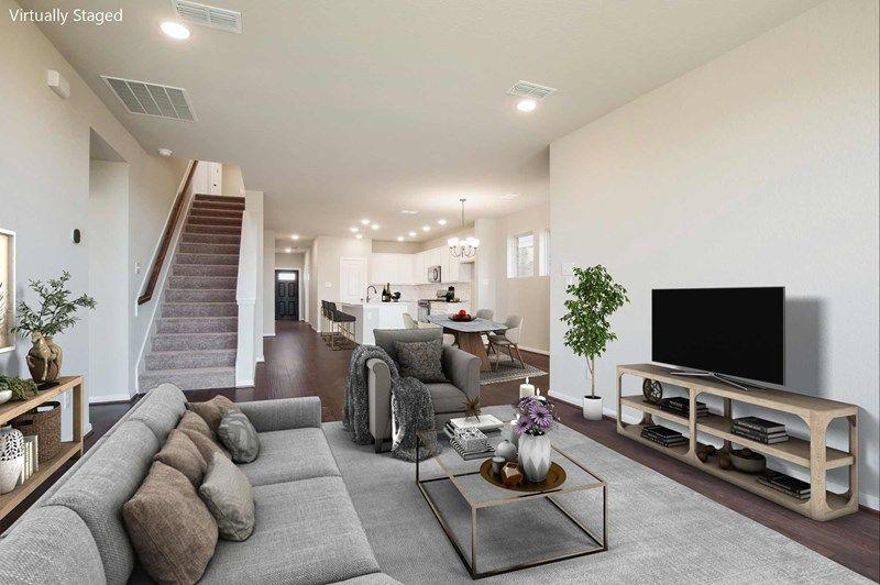 Interior:The Brinwood - Family Room