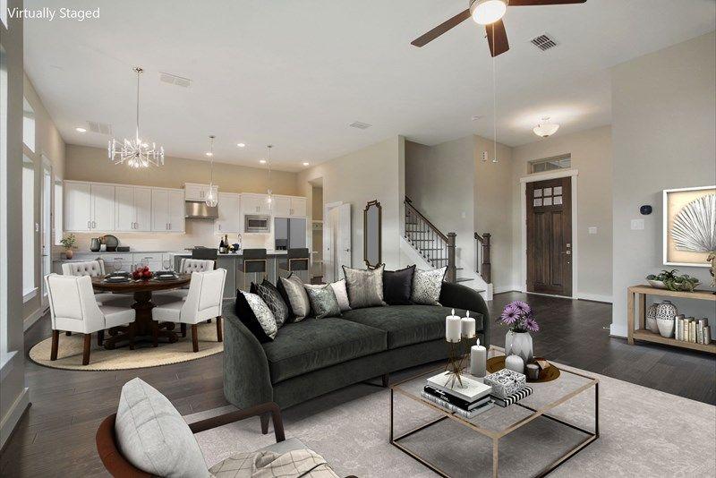 Interior:The Tidwell - Living Room
