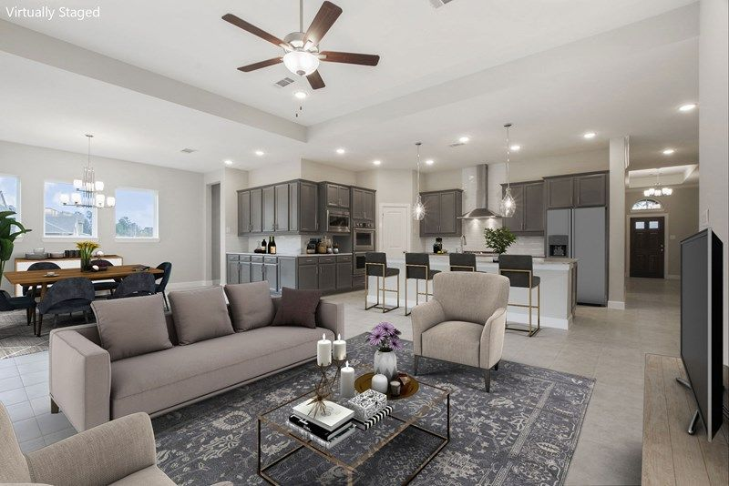Interior:The Bynum - Living Room