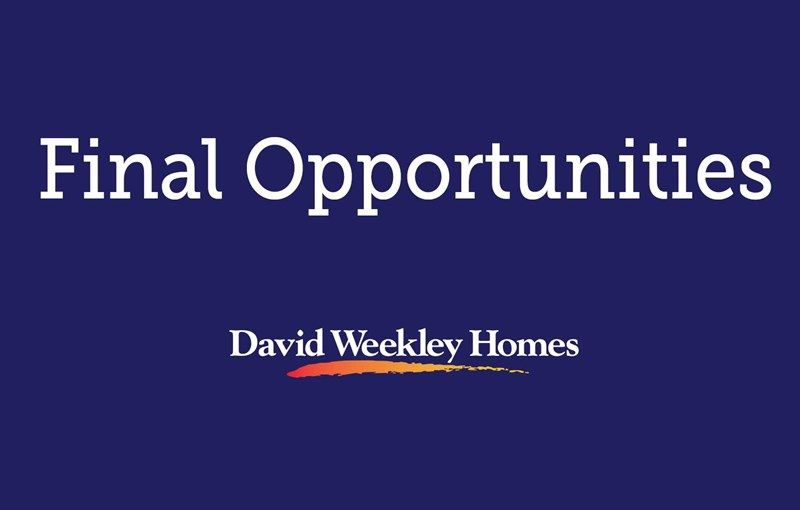 The Villas at Saxony - Final Opportunities