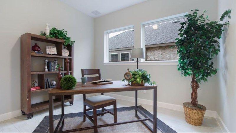 Interior:The Braden - Study