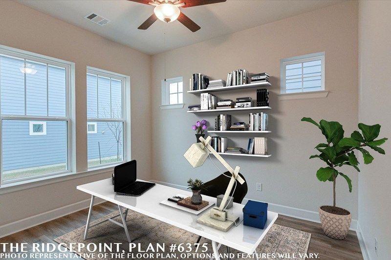 Interior:The Ridgepoint - Study